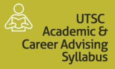 UTSC Academic & Career Advising Syllabus