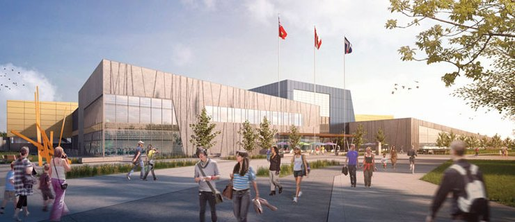 Architectural rendering of TPASC