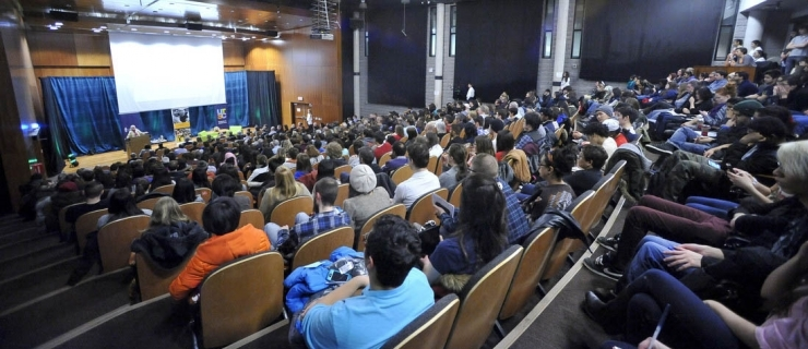 Jane Goodall Speaks at Watts Lecture