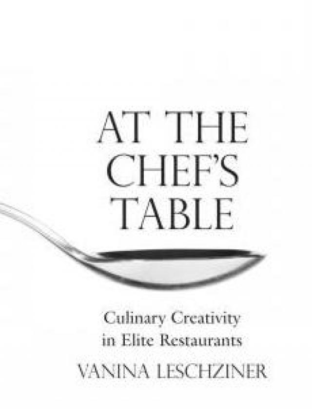 title book At the chef's table