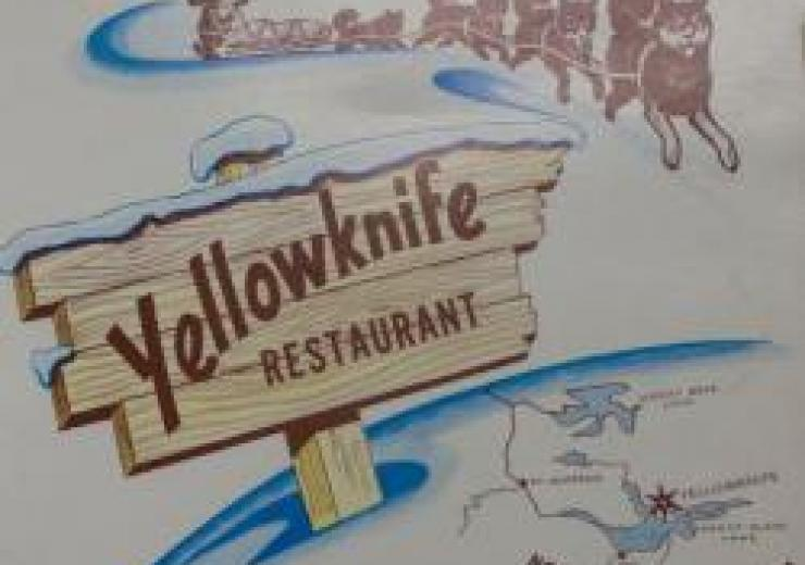 """Yellowknife Restaurant"" menu"