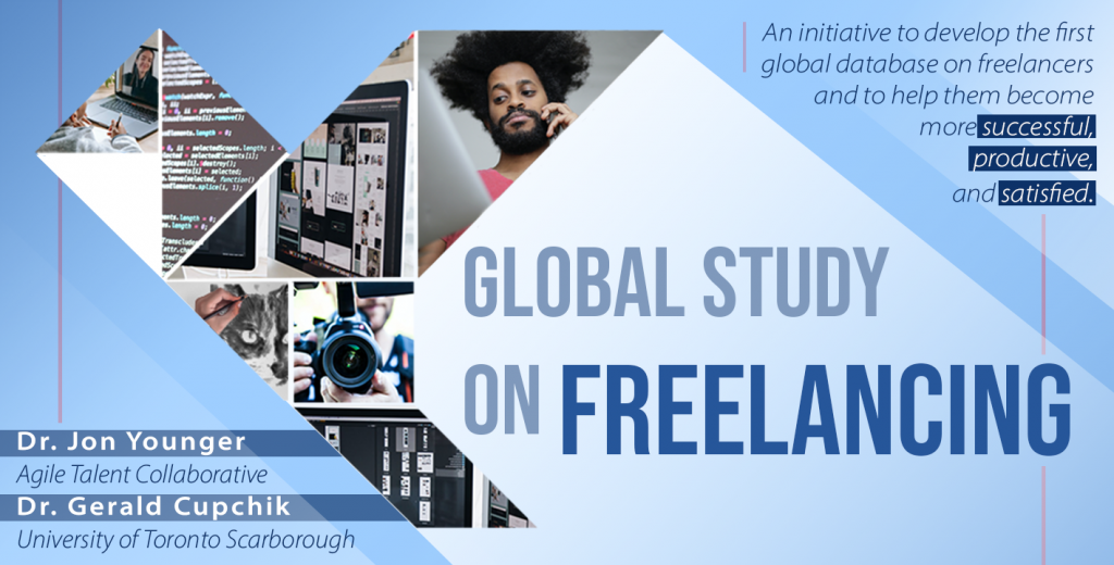 Global study on Freelancing cover image - Dr. G. Cupchik and Dr. J. Younger