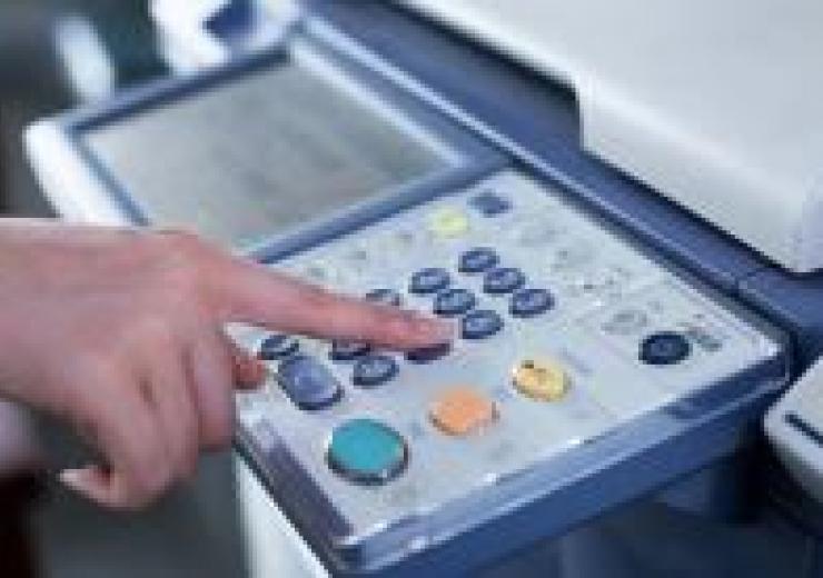 stock image of printer