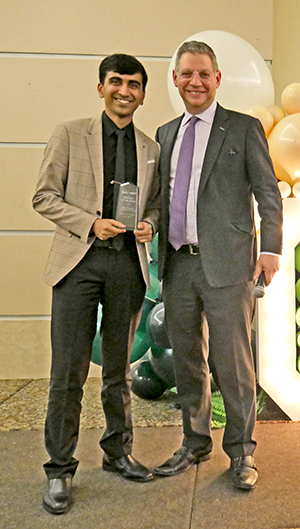 Bilal Fasihi and Prof. David Zweig