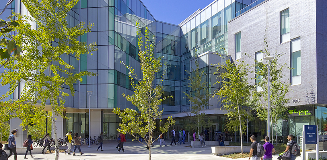 Instructional Centre, Home of MAccFin at U of T Scarborough