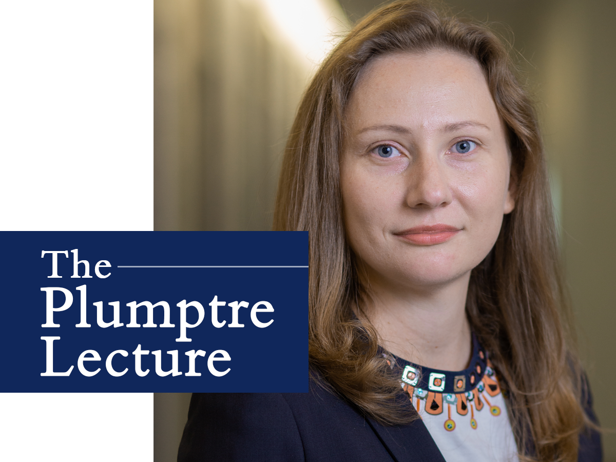 The Plumptre Lecture