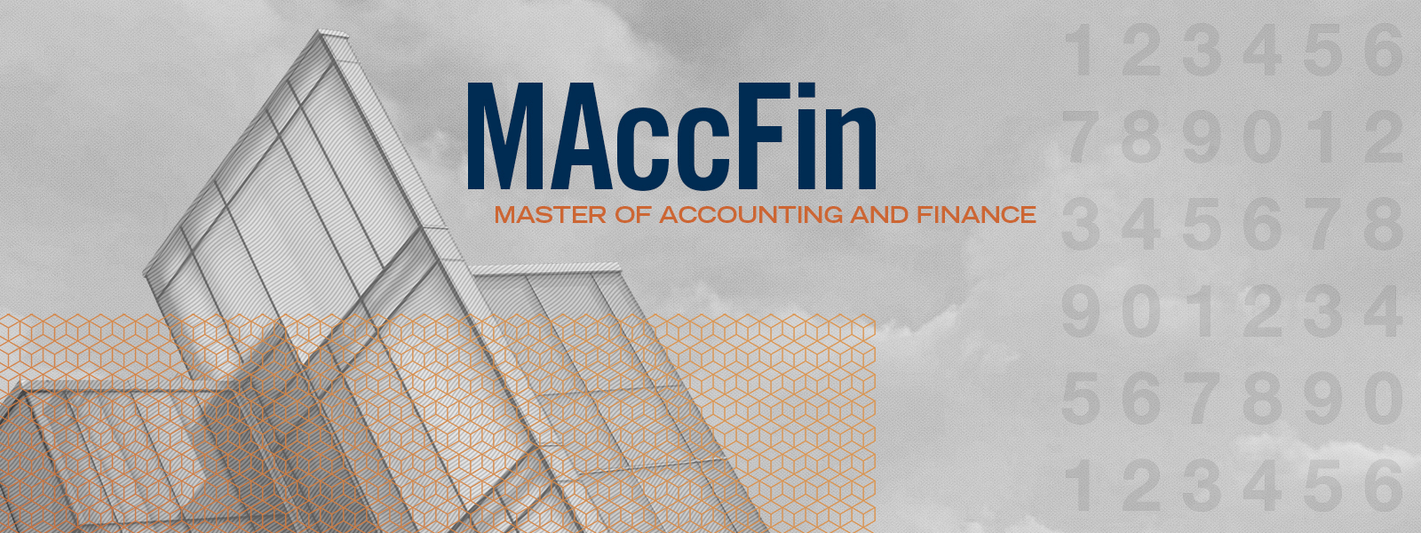 MAccFin: Master of Accounting and Finance