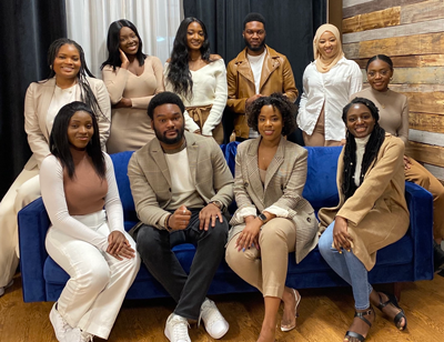 Black Students in Business executive team