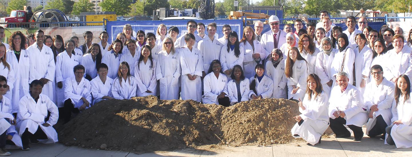 Group photo of ground breaking