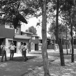 Photo #4 of Aspen Hall residence on September 1st, 1974 (Credit: University of Toronto Archives and Robert Lansdale, photographer.)